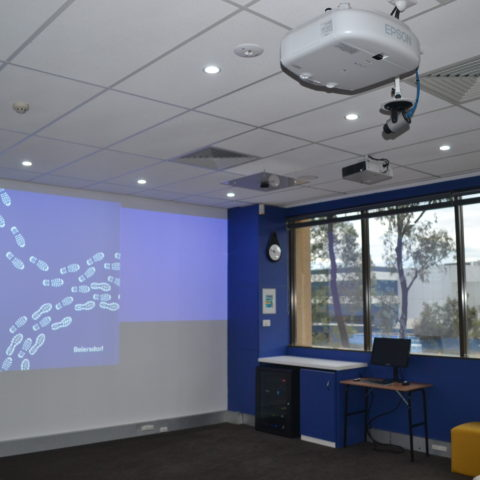 Beiersdorf Conference room installation