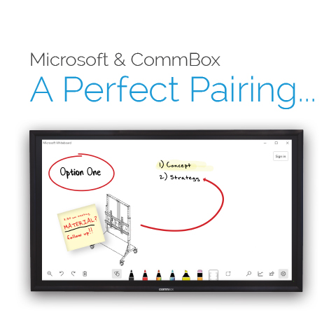 Microsoft & CommBox, A Perfect Pairing…